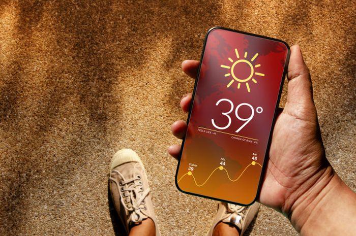 Tips Merawat Baterai dengan Hindari overheat ponsel