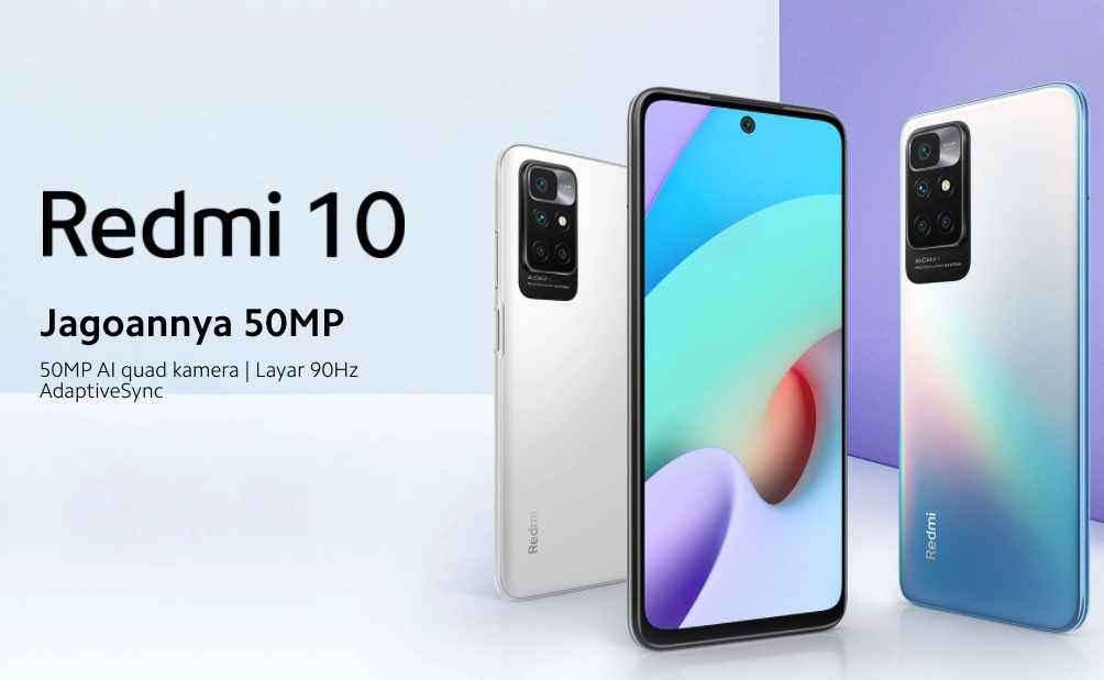Harga Xiaomi Redmi 10, HP Android Kamera 50MP Ultra-High